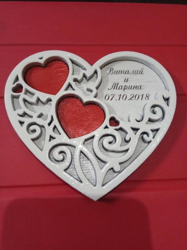 Laser cut Rings Box Wedding Day Decor Free CDR Vectors Art