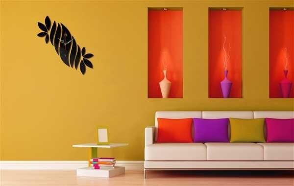 Decorative Wall Clock Room Decor Ideas Free CDR Vectors Art