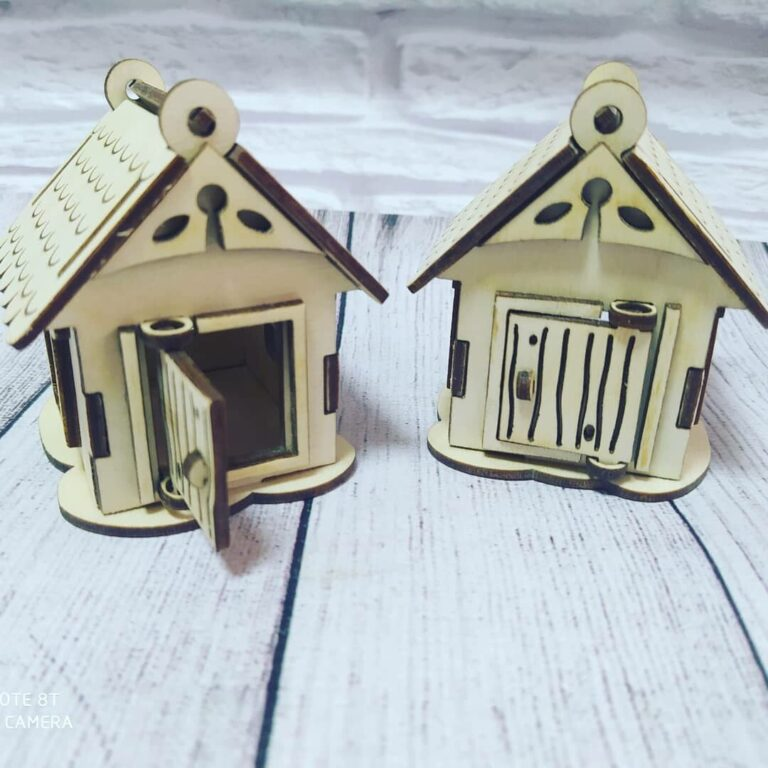 Toy Houses Free CDR Vectors Art