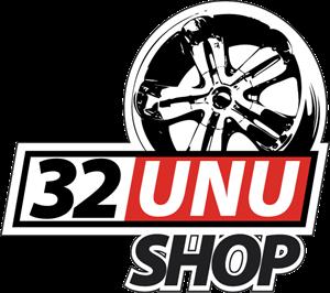 32unu Shop Logo Vector Free AI File