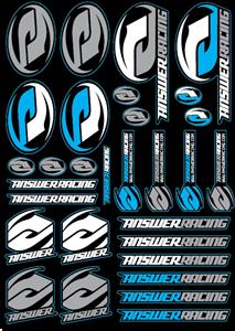 Answer Racing Logo Vector Free AI File