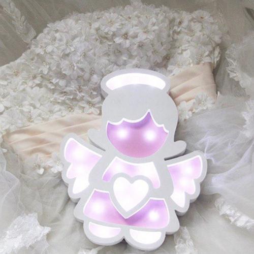 Angel Kids Room Night Light Lamp 5mm Free CDR Vectors Art