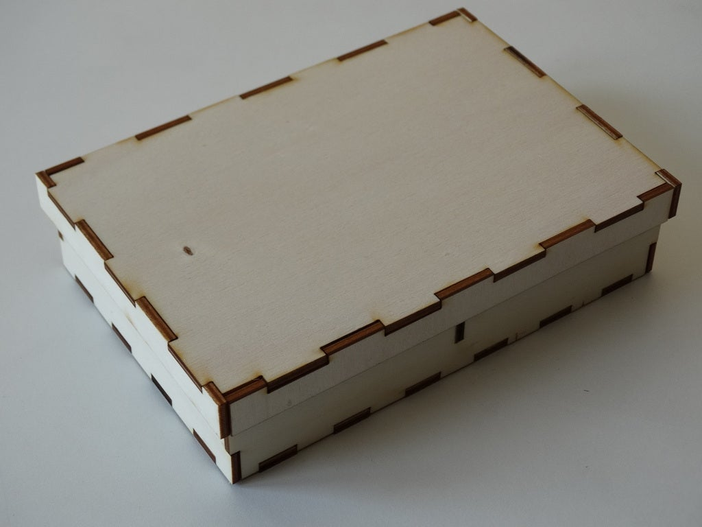 Box With Lid 3mm Free DXF File