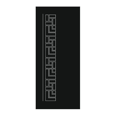 Laser Cut Door Engraved Design 72 Free DXF File