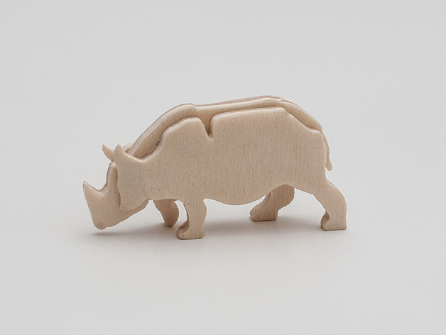 Laser Cutting Rhinoceros Free PDF File
