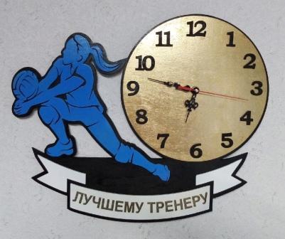 Laser Cut Volleyball Wall Clock Free CDR Vectors Art