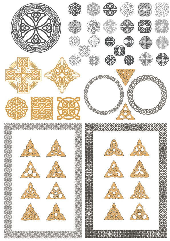 Celtic Ornaments Free CDR Vectors Art