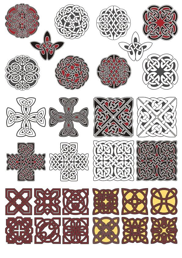 Vectors Celtic Ornament Free CDR Vectors Art
