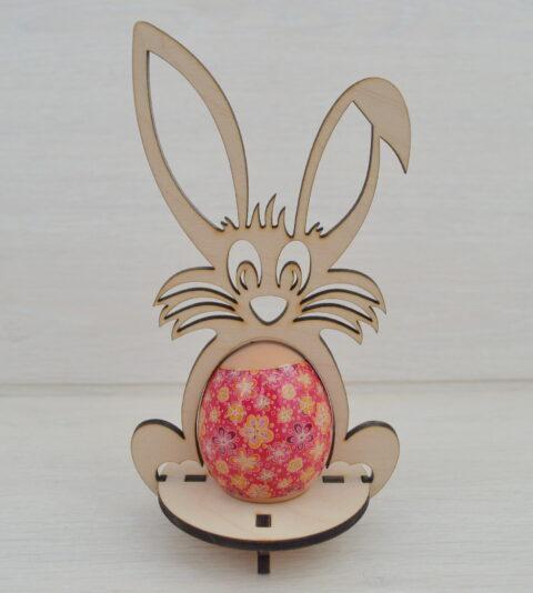Easter Bunny Template 4mm Free CDR Vectors Art