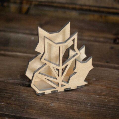 Laser Cut Cat Napkin Holder Free CDR Vectors Art
