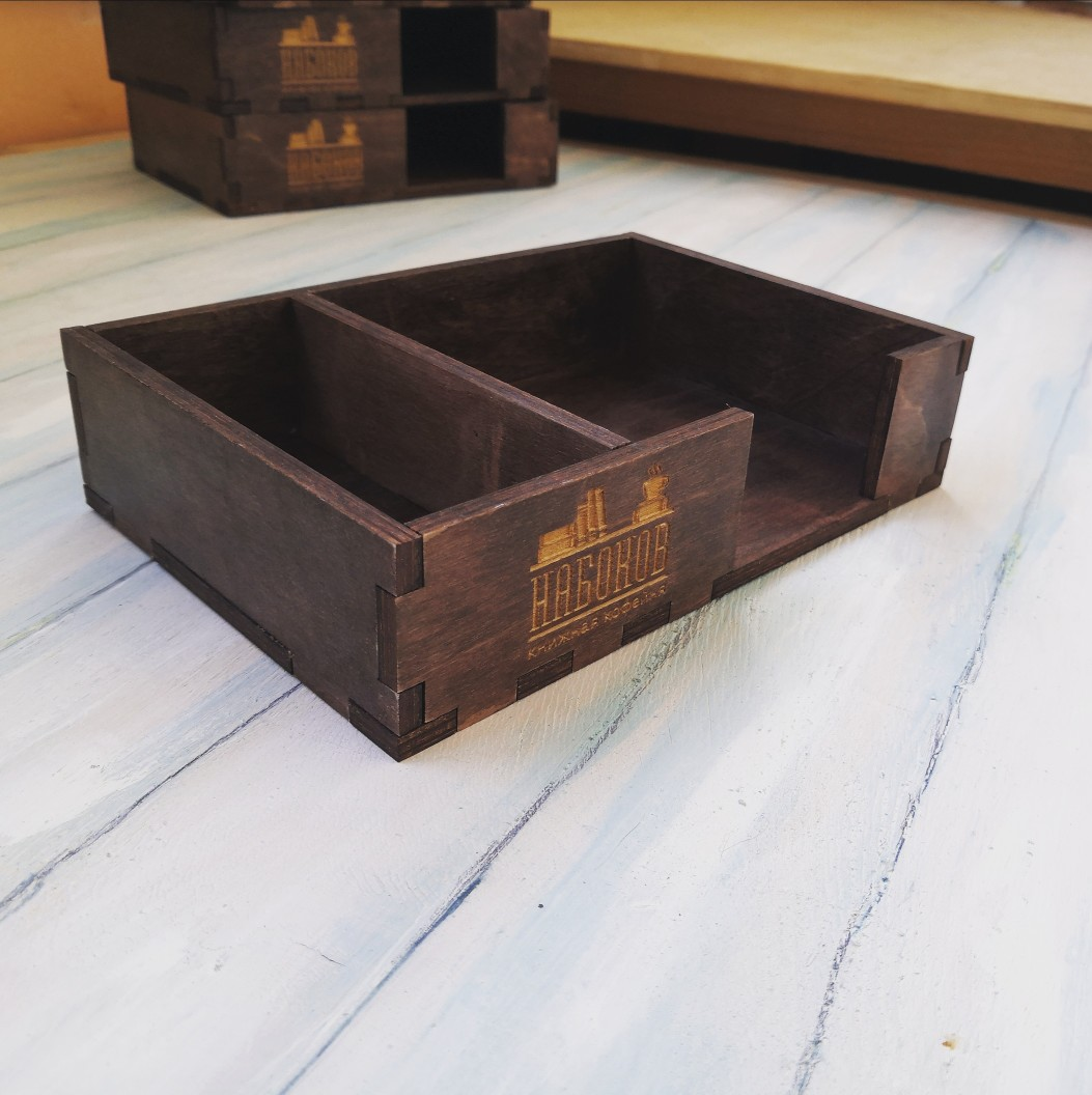 Laser Cut Napkin Holders For Plywood 6 Mm Free CDR Vectors Art