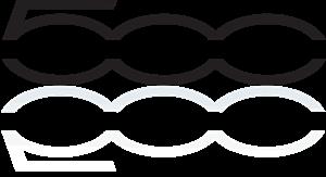 Fiat 500 2007 Logo Vector Free AI File