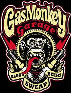 Gas Monkey Logo Vector Free AI File