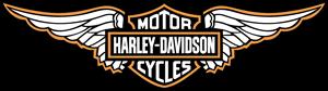Harley Davidson Wings Logo Vector Free AI File