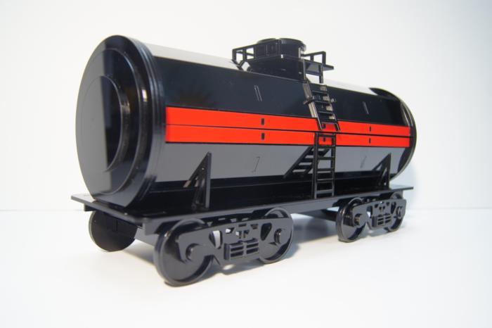 Wine Bottle Holder Oil Tanker Train Free CDR Vectors Art
