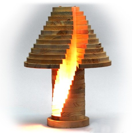Stacked Lamp Cnc Plans Free PDF File