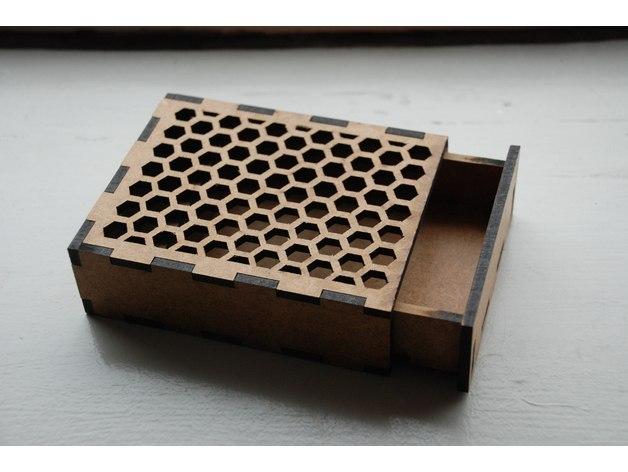 Laser Cut Box Free AI File