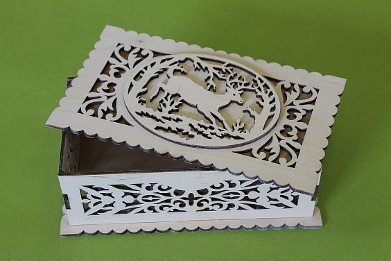 Decorative Wooden Boxes Free DXF File