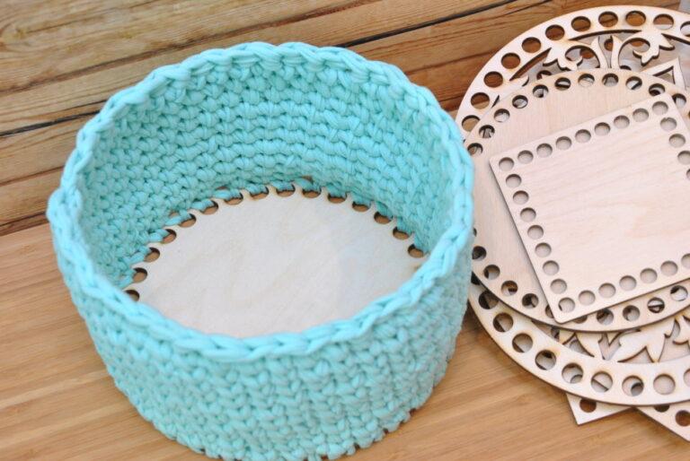 Laser Cut Basket Bottoms Free CDR Vectors Art