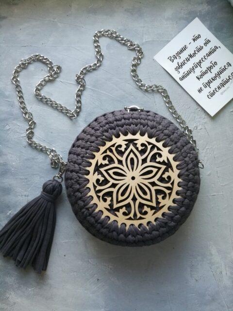 Laser Cut Wooden Bases For Crochet Baskets Free CDR Vectors Art