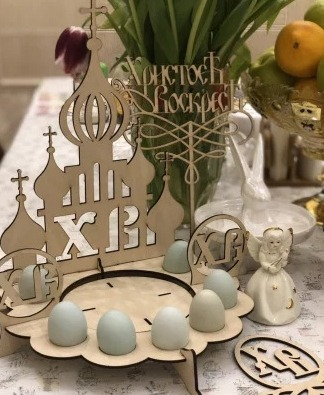 Easter Egg Holder Design Free CDR Vectors Art