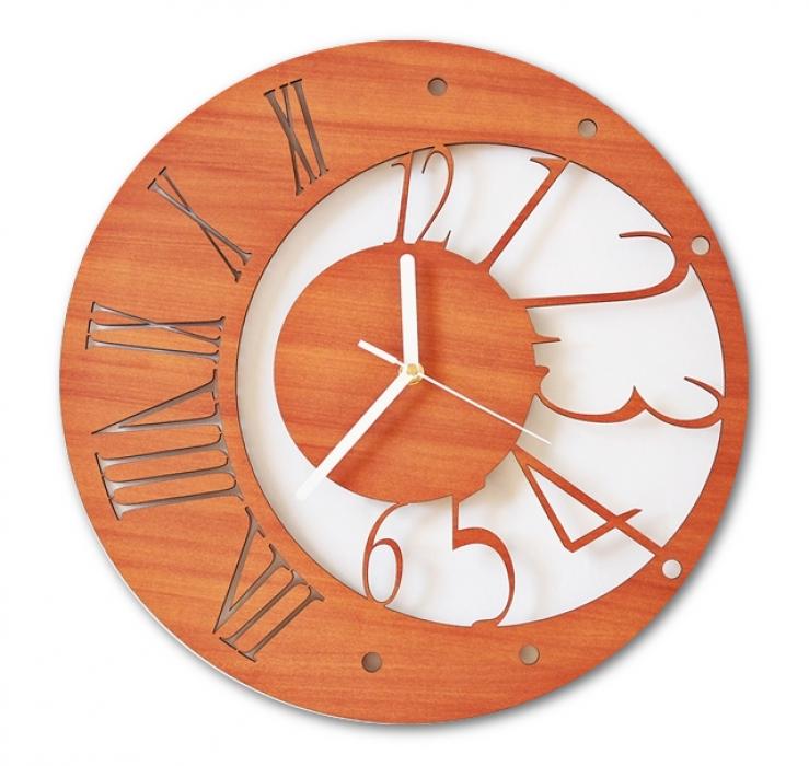 Laser Cut Contemporary And Modern Wall Clock Free CDR Vectors Art