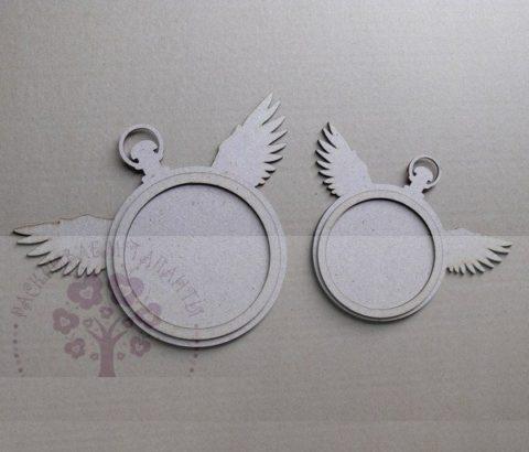 Laser Cut Wings Wall Clock Free CDR Vectors Art
