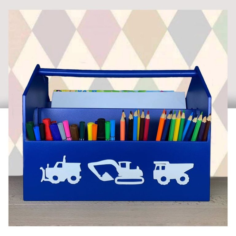 Laser Cut School Stationery Creative Gift Pen Pencil Holder Container Box Set For Children 6mm Free CDR Vectors Art