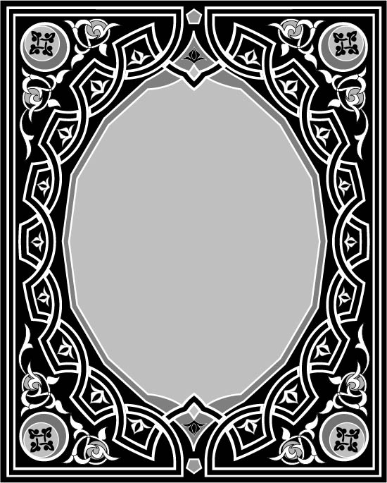 Ornaments Pattern Free AI File