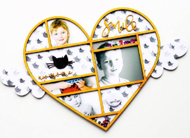 Heart Shaped Frame Free CDR Vectors Art