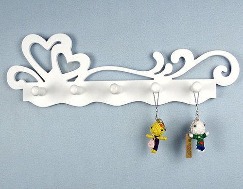 Laser Cut Key Holder Wall Hanging Free CDR Vectors Art