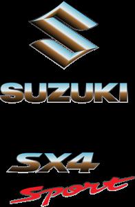Suzuki sx4 Sport Logo Vector Free AI File