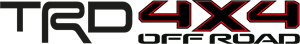 Trd 4×4 Off Road Logo Vector Free AI File