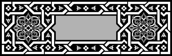 Arabian Ornament Design Free AI File