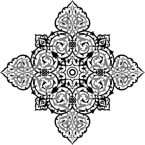 Oriental Ornament Design Free AI File