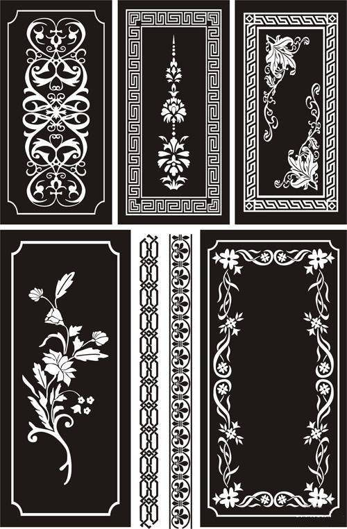 Ornamental Designs Free AI File