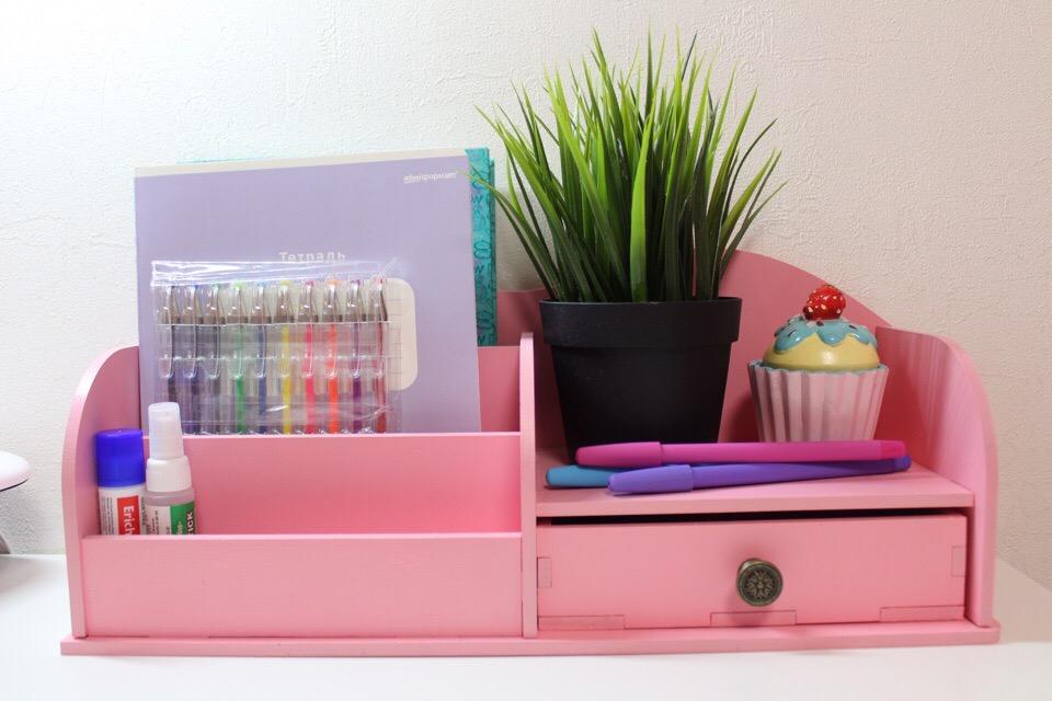 Laser Cut Makeup Organizer Cosmetic Storage Box Desk Organizer For Cosmetics Drawer Free CDR Vectors Art