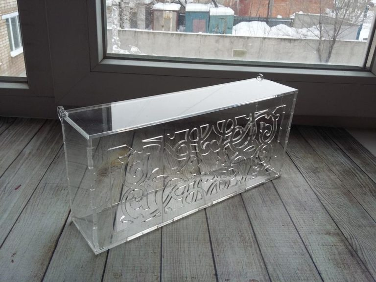 Laser Cut Acrylic Decorative Box With Lid Template Free CDR Vectors Art