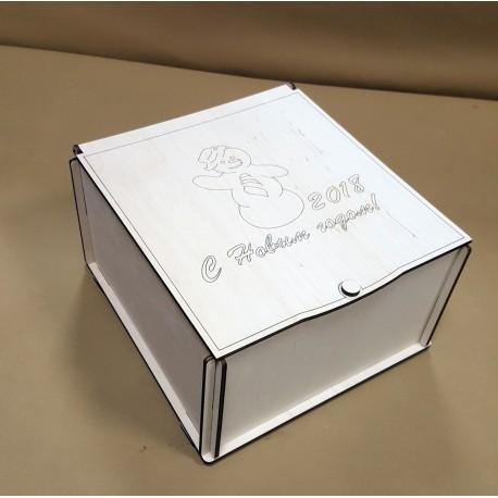 Laser Cut Candy Box Template Free CDR Vectors Art