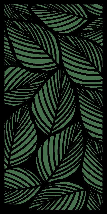 Decorative Leaf Pattern Cnc Cutting Free PDF File