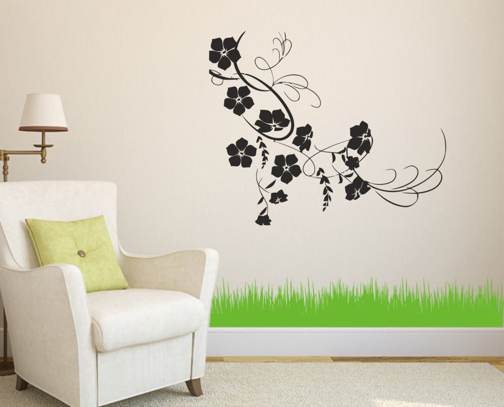 Laser Cut Flower Vine Wall Decor Ideas Free CDR Vectors Art