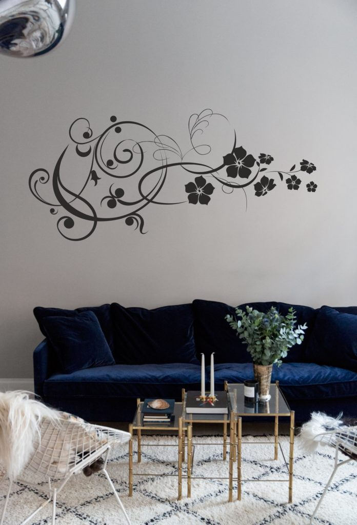 Laser Cut Flowers Wall Art Decor Free CDR Vectors Art