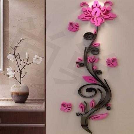 Laser Cut Wall Decor Flower Template Free CDR Vectors Art
