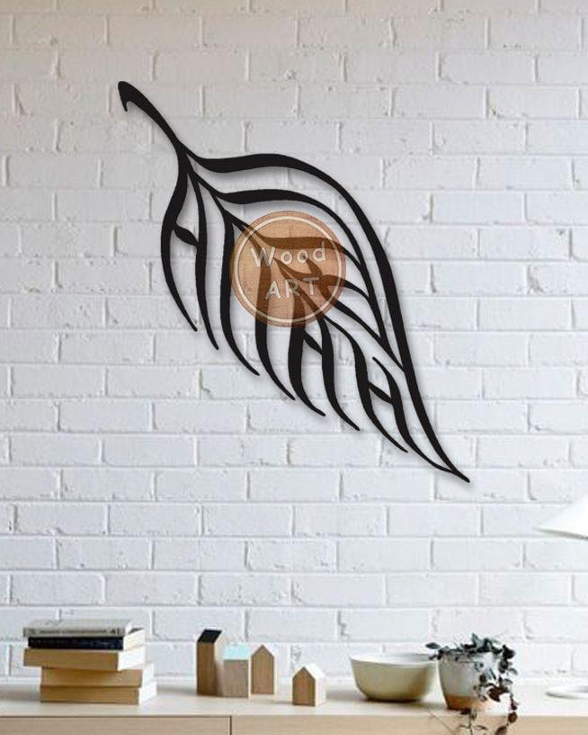 Leaf Wall Decor Free CDR Vectors Art