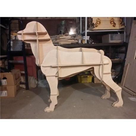 Laser Cut Boxer Dog Free CDR Vectors Art