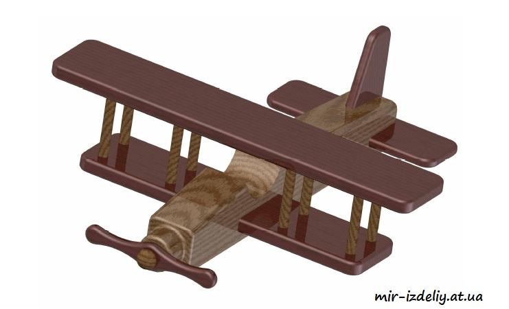 Biplane Kids Toy Plan Free PDF File
