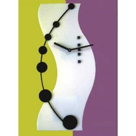 Laser Cut Hi Tech Clock Template Free CDR Vectors Art