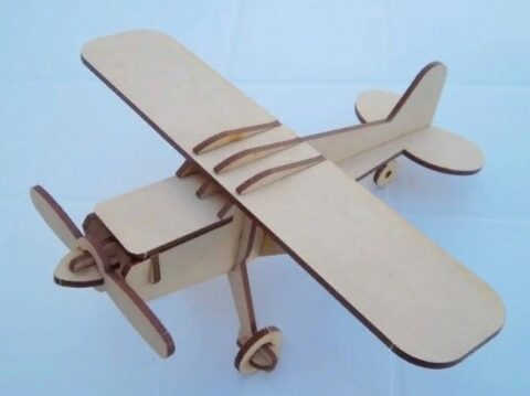 Toy Airplane Free CDR Vectors Art