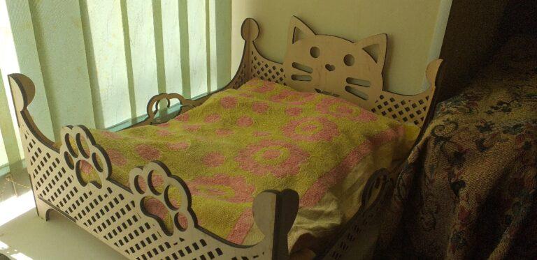 Cat Pet Bed Free CDR Vectors Art