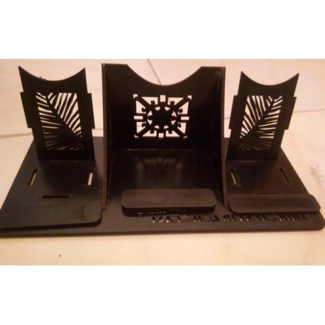 Laser Cut Cell Phone Stand Template Free CDR Vectors Art